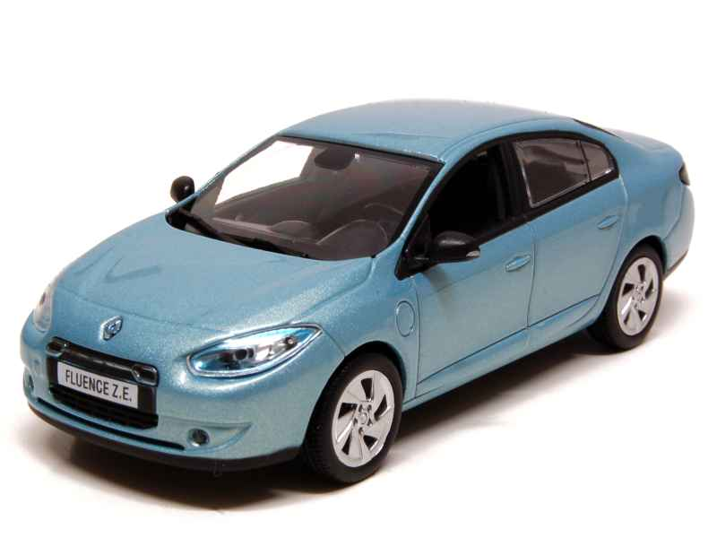 renault fluence ze electrique 2011 norev 1 43 autos miniatures tacot. Black Bedroom Furniture Sets. Home Design Ideas