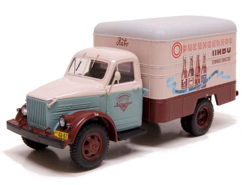 Felices compras DIP Models - GAZ 51 Van Box 1950 - - - 1 43  precios razonables
