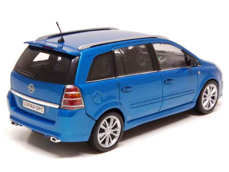 opel zafira opc tourer b 2006 minichamps 1 43 autos miniatures tacot. Black Bedroom Furniture Sets. Home Design Ideas