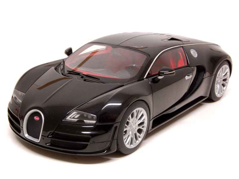 bugatti veyron 16 4 super sport 2010 mr 1 18 autos miniatures tacot. Black Bedroom Furniture Sets. Home Design Ideas