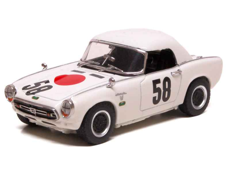 honda s800 nurburgring 1967 ebbro 1 43 autos miniatures tacot. Black Bedroom Furniture Sets. Home Design Ideas