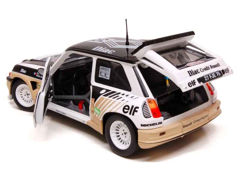 renault r5 maxi turbo tour de corse 1985 solido 1 18 autos miniatures tacot. Black Bedroom Furniture Sets. Home Design Ideas