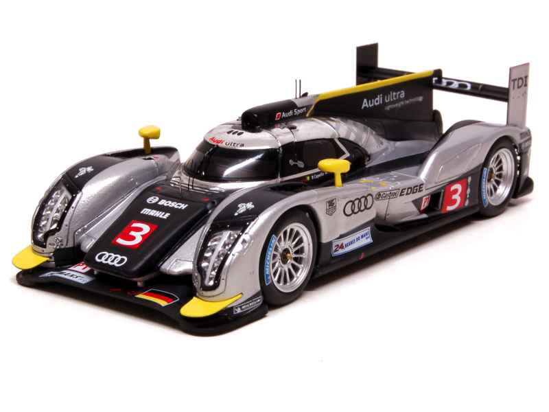 audi r18 tdi le mans 2011 spark model 1 43 autos miniatures tacot. Black Bedroom Furniture Sets. Home Design Ideas