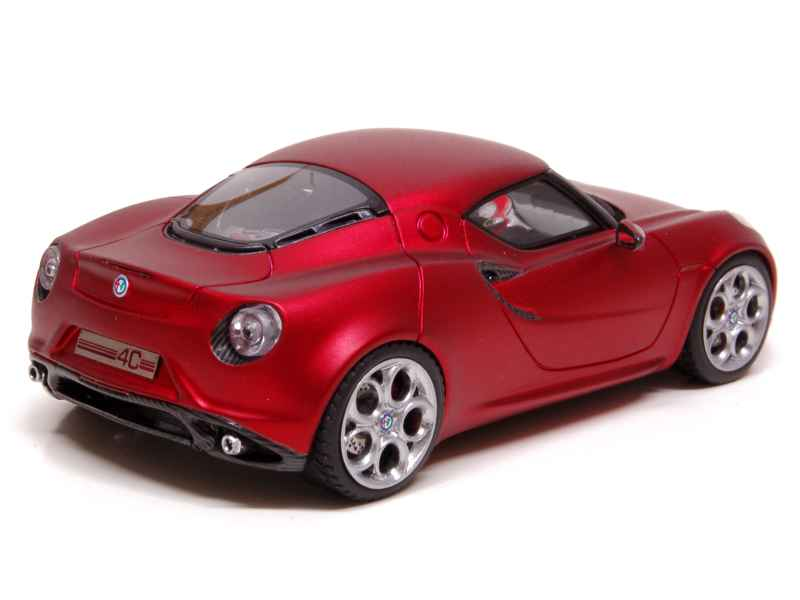 alfa romeo 4c concept gen ve 2011 looksmart 1 43 autos miniatures tacot. Black Bedroom Furniture Sets. Home Design Ideas
