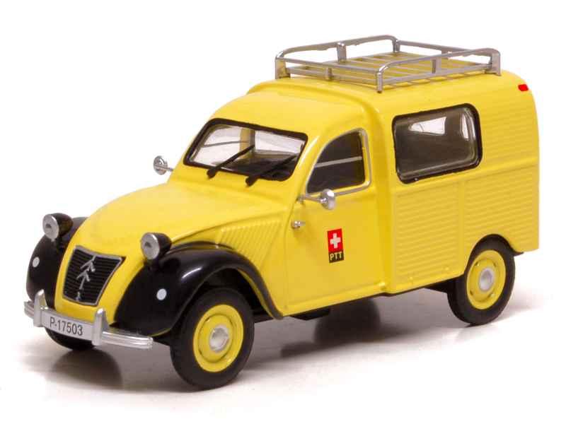 citro u00ebn - 2cv azu fourgonnette poste suisse - eligor - 1  43