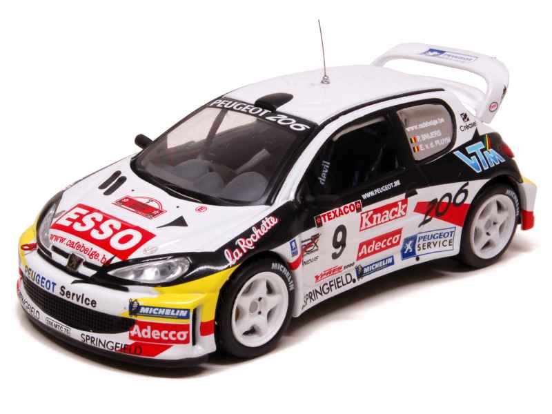 69162 Peugeot 206 WRC Ypres Rally 2000