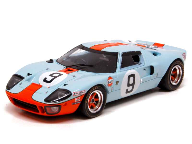 ford gt 40 le mans 1968 spark model 1 43 autos miniatures tacot. Black Bedroom Furniture Sets. Home Design Ideas