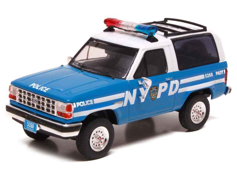 69516 Ford Bronco II Police 1990