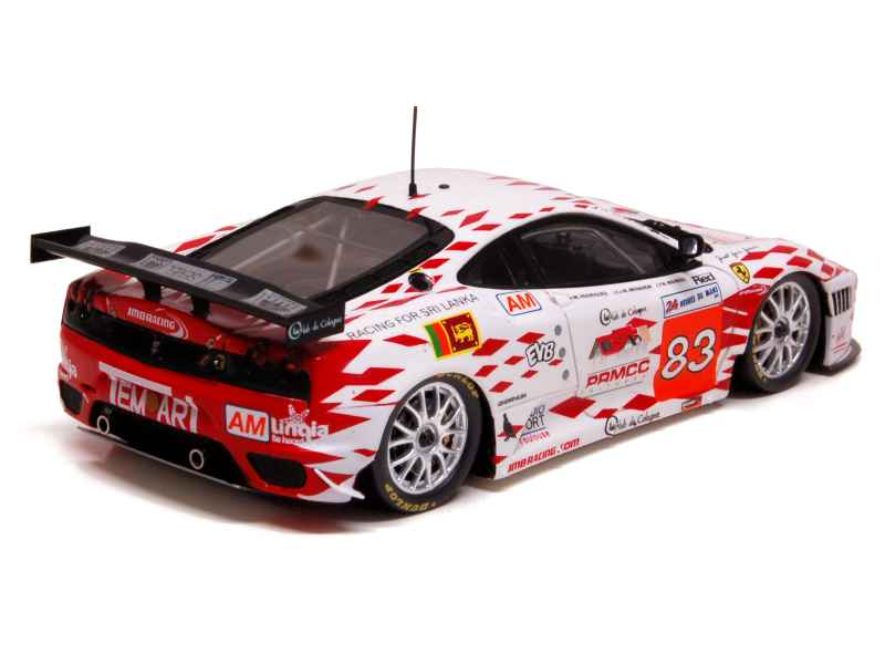 ferrari f430 gt2 le mans 2011 fujimi 1 43 autos miniatures tacot. Black Bedroom Furniture Sets. Home Design Ideas