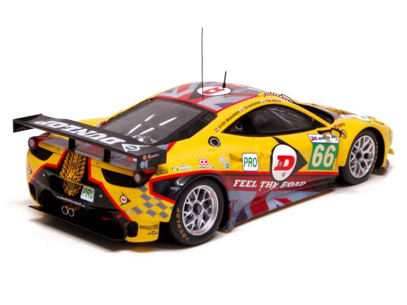 ferrari 458 italia gt2 le mans 2011 fujimi 1 43 autos miniatures tacot. Black Bedroom Furniture Sets. Home Design Ideas