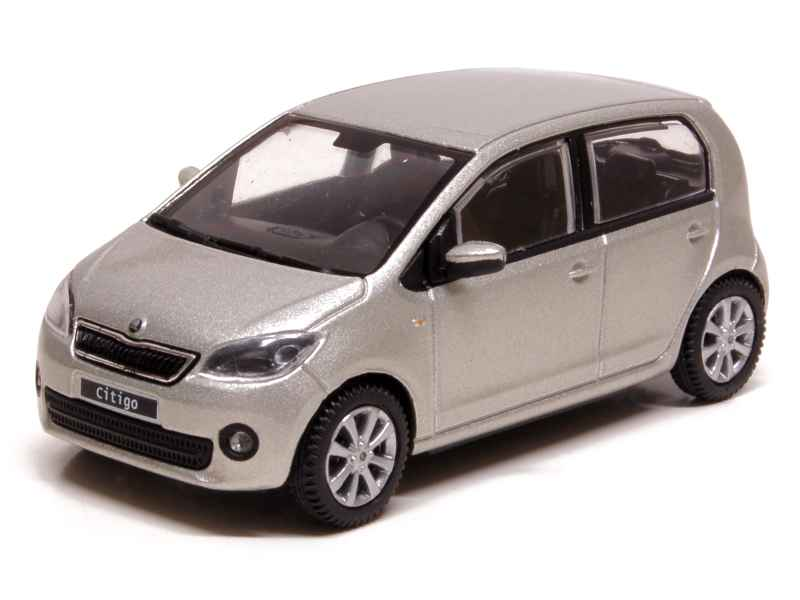 skoda citigo 5 doors 2012 abrex 1 43 autos miniatures tacot. Black Bedroom Furniture Sets. Home Design Ideas
