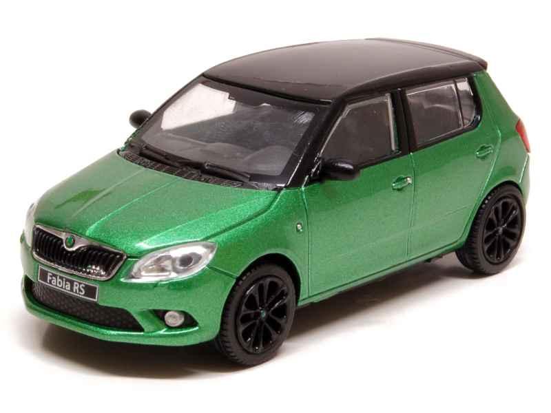 skoda fabia ii rs 2010 abrex 1 43 autos miniatures tacot. Black Bedroom Furniture Sets. Home Design Ideas