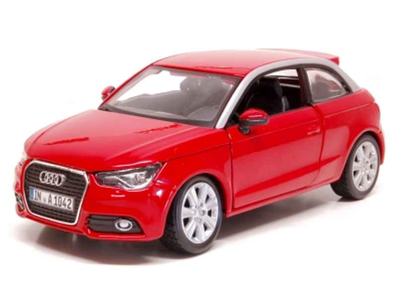 audi a1 2010 burago 1 24 autos miniatures tacot. Black Bedroom Furniture Sets. Home Design Ideas