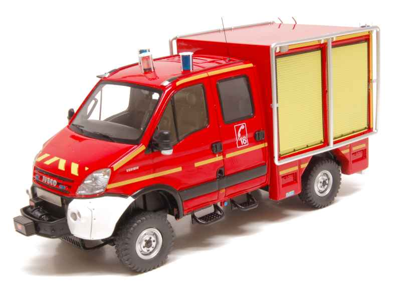iveco daily ituri 4x4 pompiers alerte 1 43 autos. Black Bedroom Furniture Sets. Home Design Ideas