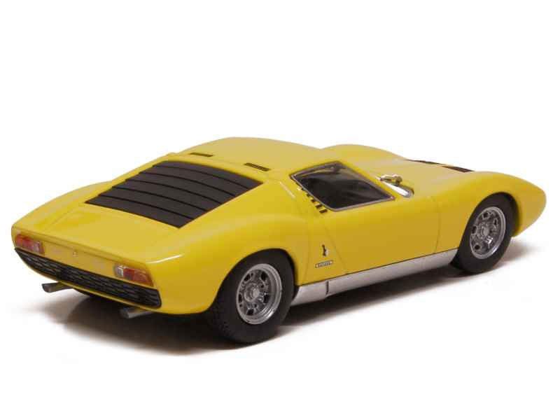 lamborghini miura p400 sv 1971 minichamps 1 43 autos miniatures tacot. Black Bedroom Furniture Sets. Home Design Ideas