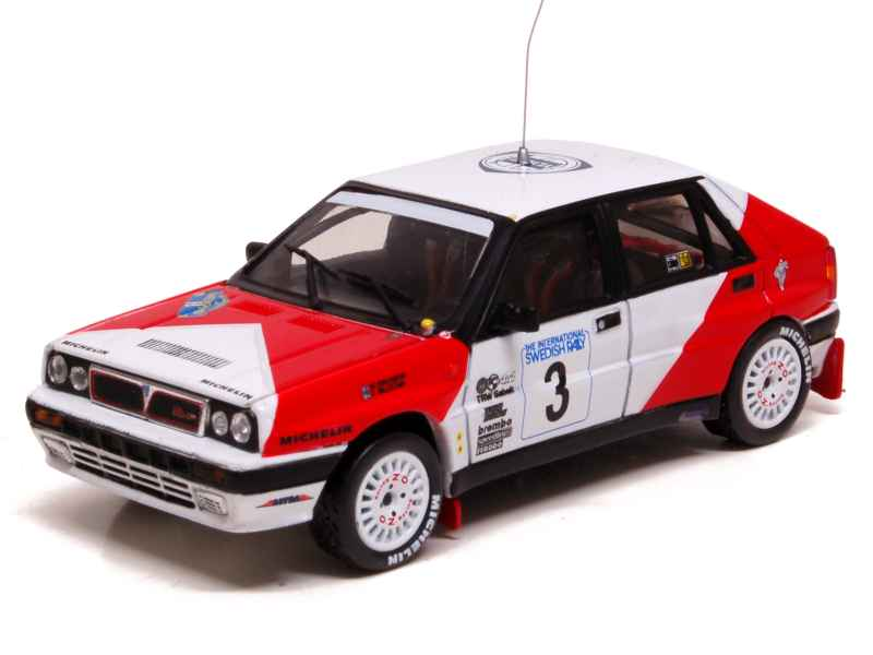 lancia delta integrale sweden 1989 vitesse 1 43 autos miniatures tacot. Black Bedroom Furniture Sets. Home Design Ideas