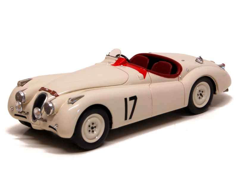 jaguar xk 120 le mans 1950 spark model 1 43 autos miniatures tacot. Black Bedroom Furniture Sets. Home Design Ideas