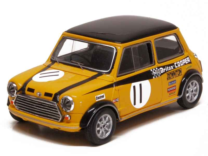 austin mini cooper britax 1969 spark model 1 43 autos miniatures tacot. Black Bedroom Furniture Sets. Home Design Ideas