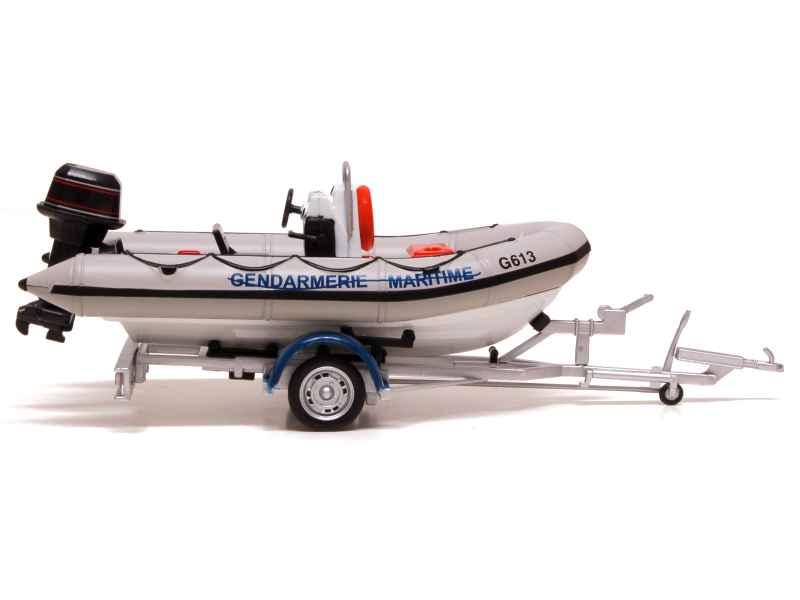 divers bateau pneumatique gendarmerie tacot 1 43. Black Bedroom Furniture Sets. Home Design Ideas