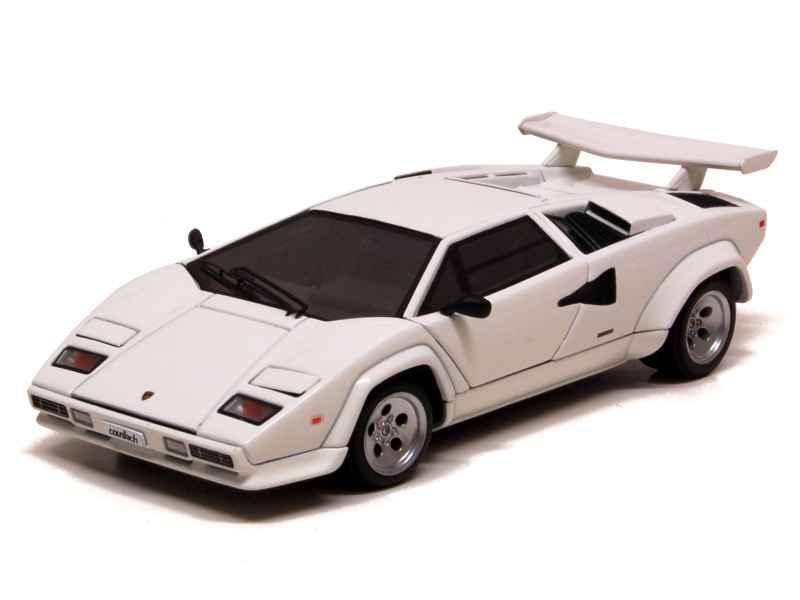 lamborghini countach 5000s 1984 autoart 1 43 autos miniatures tacot. Black Bedroom Furniture Sets. Home Design Ideas
