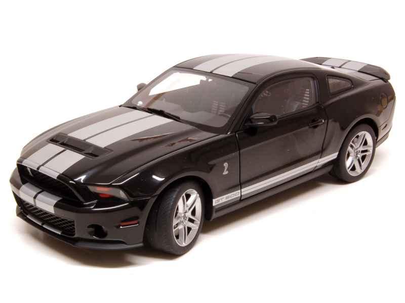 shelby mustang gt 500 2010 autoart 1 18 autos miniatures tacot. Black Bedroom Furniture Sets. Home Design Ideas
