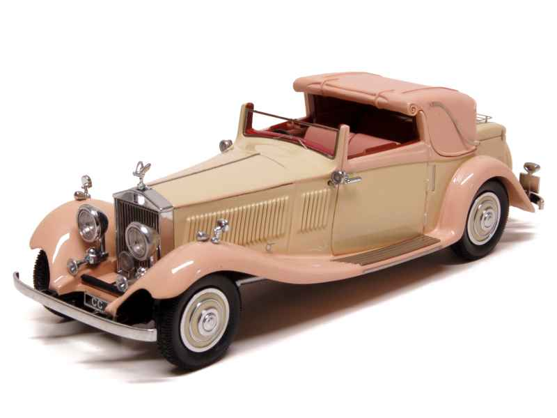 rolls royce phantom ii continental gurney 1934 neo 1 43 autos miniatures tacot. Black Bedroom Furniture Sets. Home Design Ideas