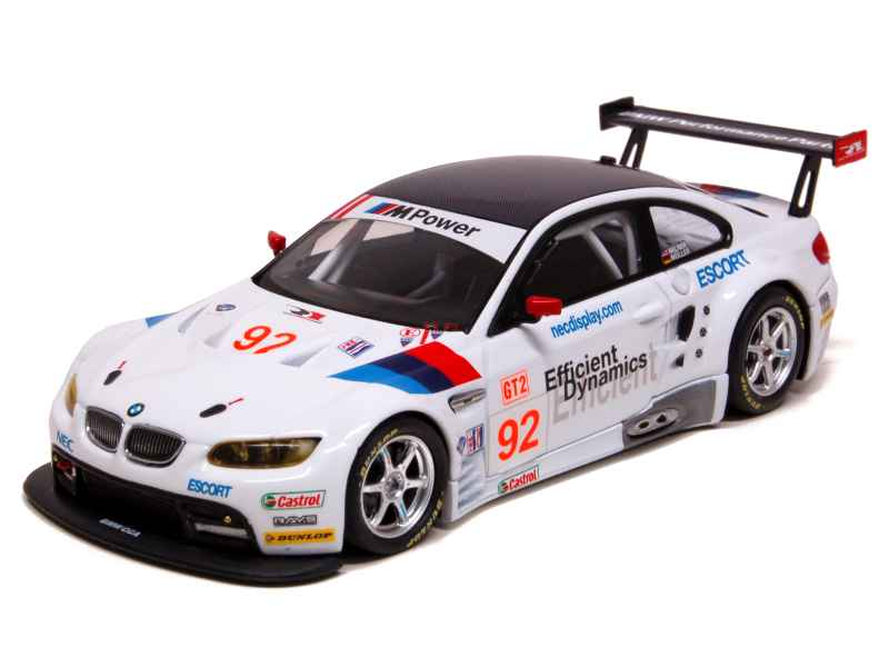 bmw m3 gt2 e92 alms 2009 minichamps 1 43 autos miniatures tacot. Black Bedroom Furniture Sets. Home Design Ideas