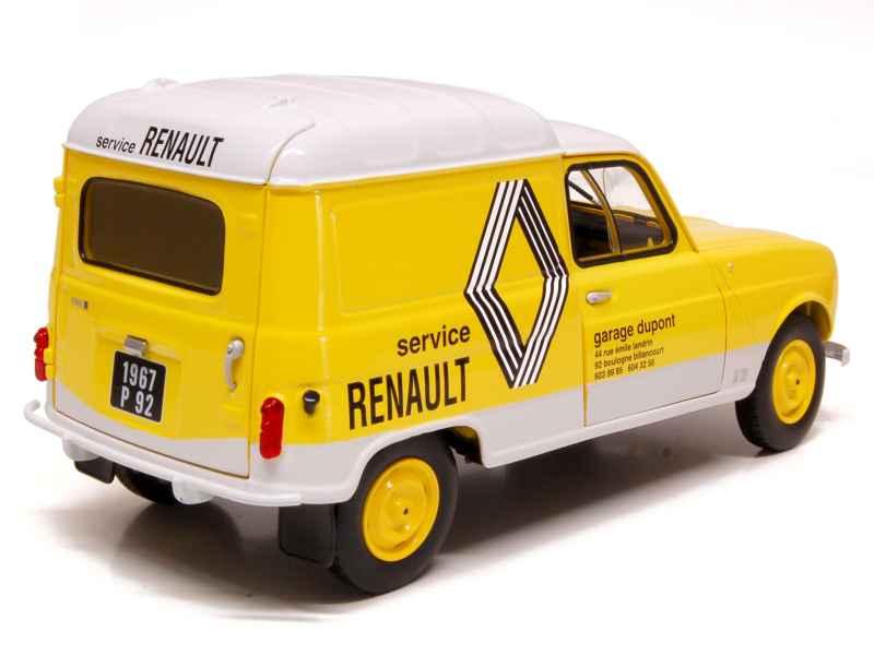 Renault r4 f4 fourgonnette 1972 norev 1 18 autos for Renault service garage