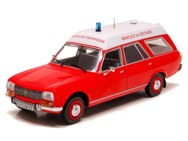 peugeot 504 break ambulance pompiers 1979 norev 1 43 autos miniatures tacot. Black Bedroom Furniture Sets. Home Design Ideas