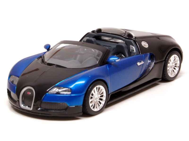 bugatti veyron grand sport 2010 minichamps 1 43 autos miniatures tacot. Black Bedroom Furniture Sets. Home Design Ideas