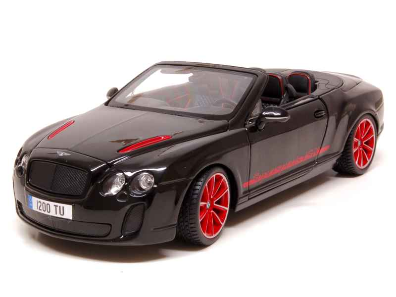 bentley continental supersports isr 2011 burago 1 18 autos miniatures tacot. Black Bedroom Furniture Sets. Home Design Ideas