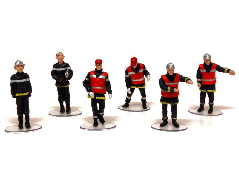 divers set pompiers momaco 1 43 autos miniatures tacot. Black Bedroom Furniture Sets. Home Design Ideas