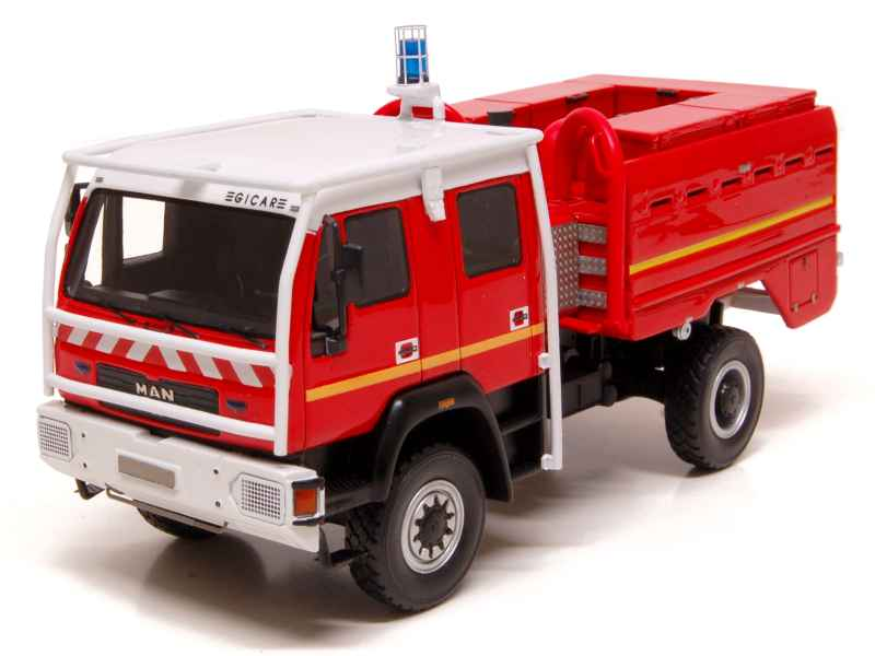 man ccf gimaex pompiers alerte 1 43 autos miniatures tacot. Black Bedroom Furniture Sets. Home Design Ideas