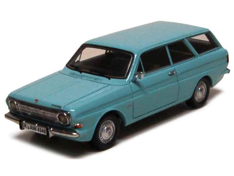 ford taunus p6 12m break 1966 neo 1 43 autos. Black Bedroom Furniture Sets. Home Design Ideas