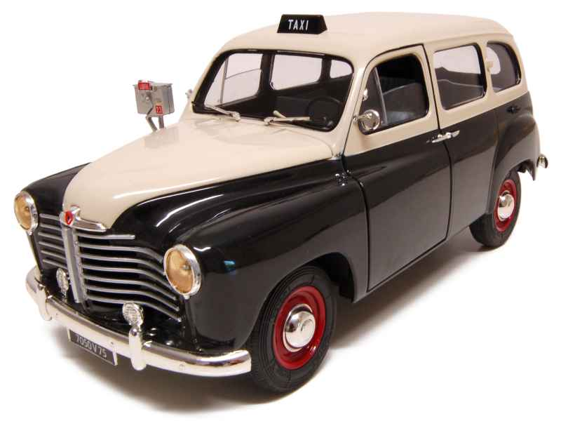 renault colorale prairie taxi 1953 solido 1 18 autos miniatures tacot. Black Bedroom Furniture Sets. Home Design Ideas