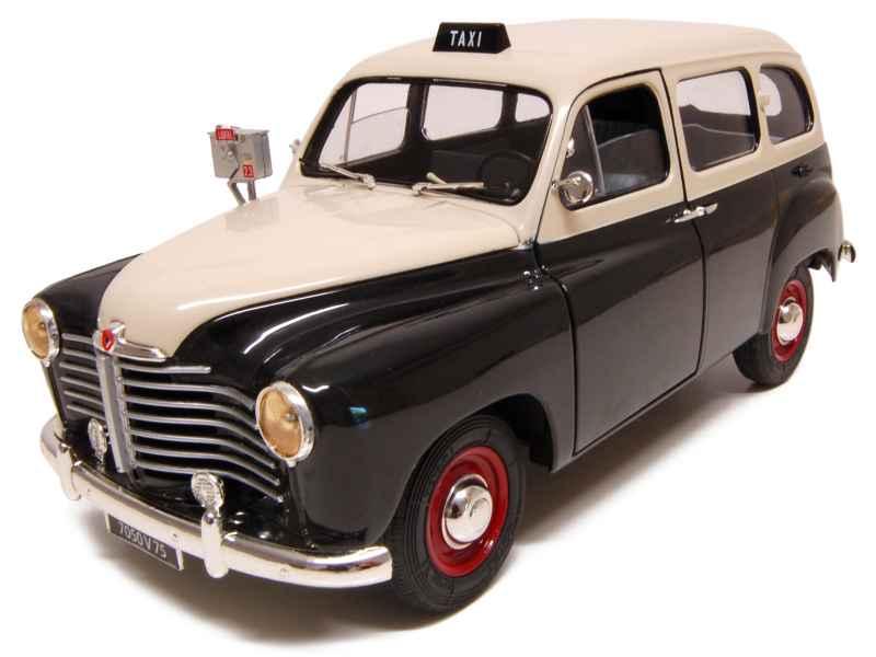 renault colorale prairie taxi 1953 solido 1 18 autos miniatures tacot. Black Bedroom Furniture Sets. Home Design Ideas