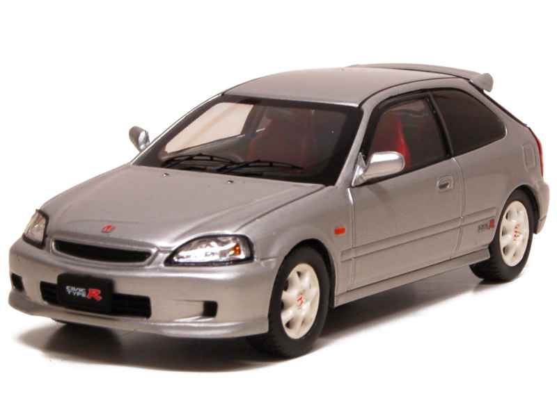 honda civic type r 1998 ebbro 1 43 autos miniatures tacot. Black Bedroom Furniture Sets. Home Design Ideas