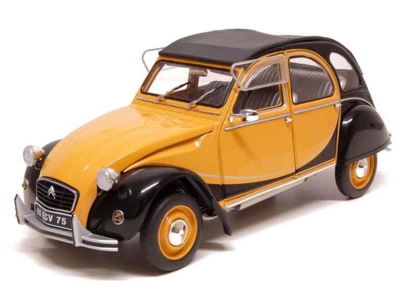 citro n 2cv 6 charleston 1982 solido 1 18 autos miniatures tacot. Black Bedroom Furniture Sets. Home Design Ideas