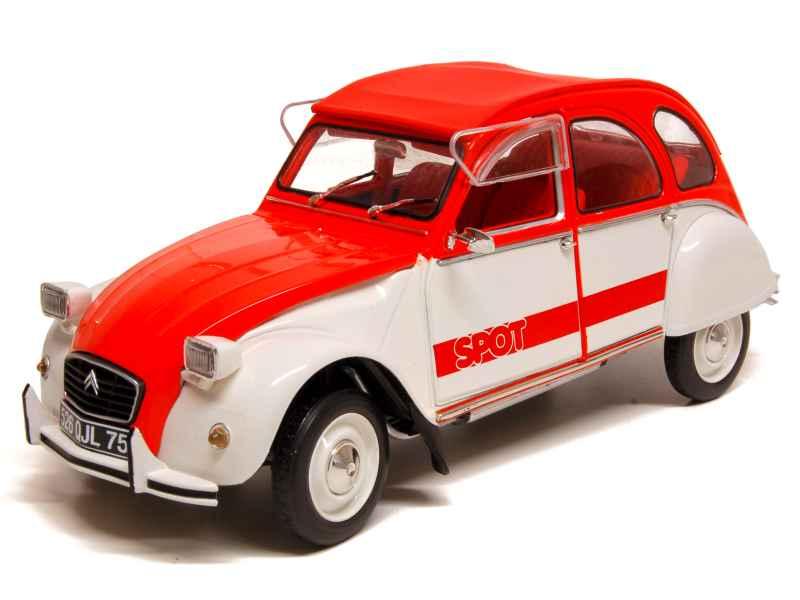 voiture miniature 2cv 1 43 1 18 autos miniatures tacot. Black Bedroom Furniture Sets. Home Design Ideas
