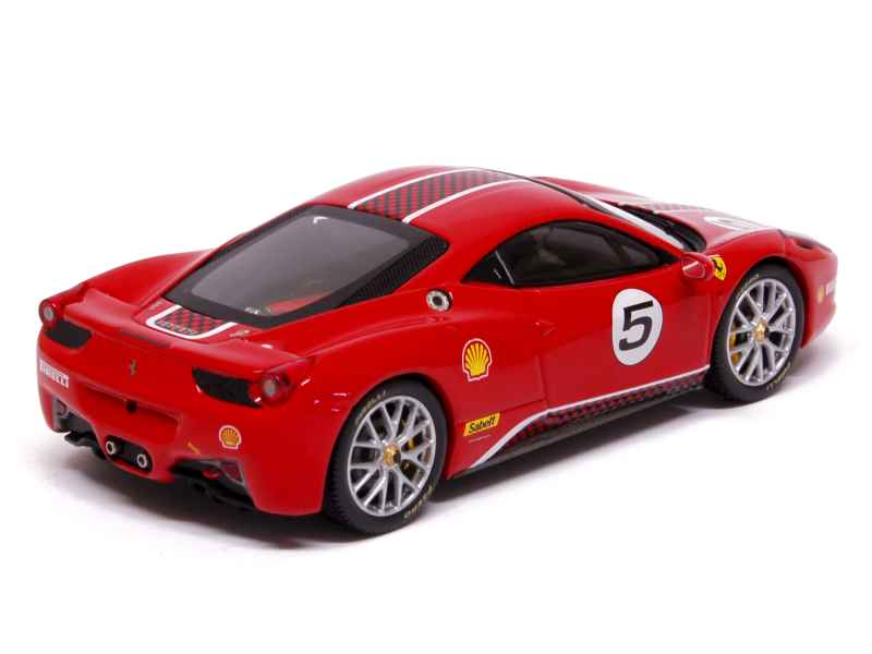 ferrari 458 italia challenge 2011 elite 1 43 autos miniatures tacot. Black Bedroom Furniture Sets. Home Design Ideas