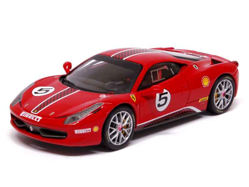 elite ferrari 458 italia challenge 2011 1 43 ebay. Black Bedroom Furniture Sets. Home Design Ideas