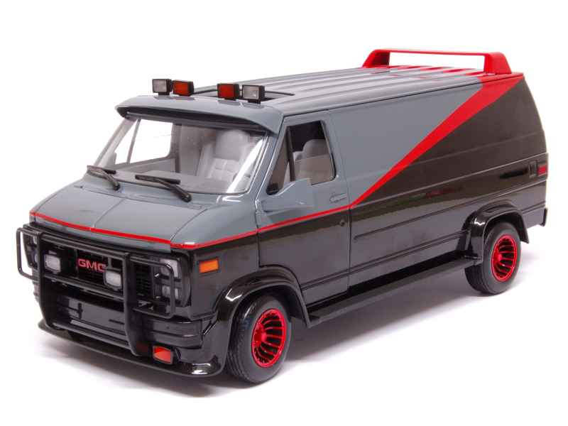 gmc van agence tous risques hot wheels 1 18 autos. Black Bedroom Furniture Sets. Home Design Ideas