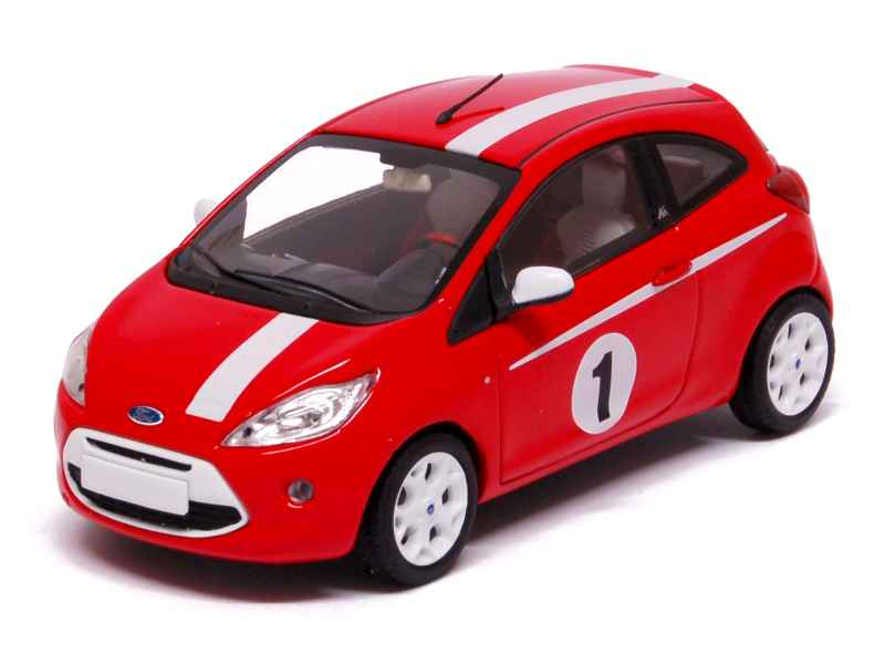 ford ka grand prix 2009 minichamps 1 43 autos miniatures tacot. Black Bedroom Furniture Sets. Home Design Ideas