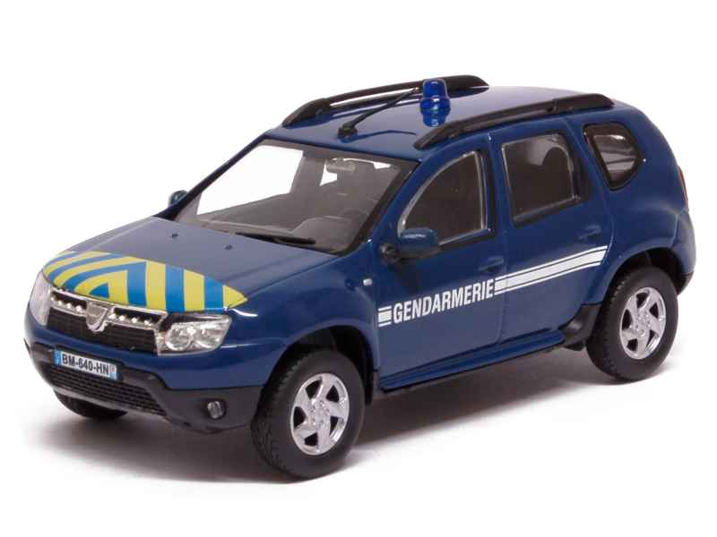 renault dacia duster gendarmerie 2010 solido 1 43 autos miniatures tacot. Black Bedroom Furniture Sets. Home Design Ideas