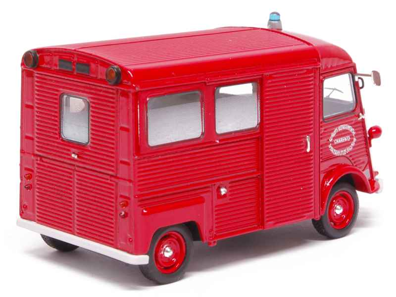 citro n hy fourgon ambulance pompiers solido 1 43 autos miniatures tacot. Black Bedroom Furniture Sets. Home Design Ideas