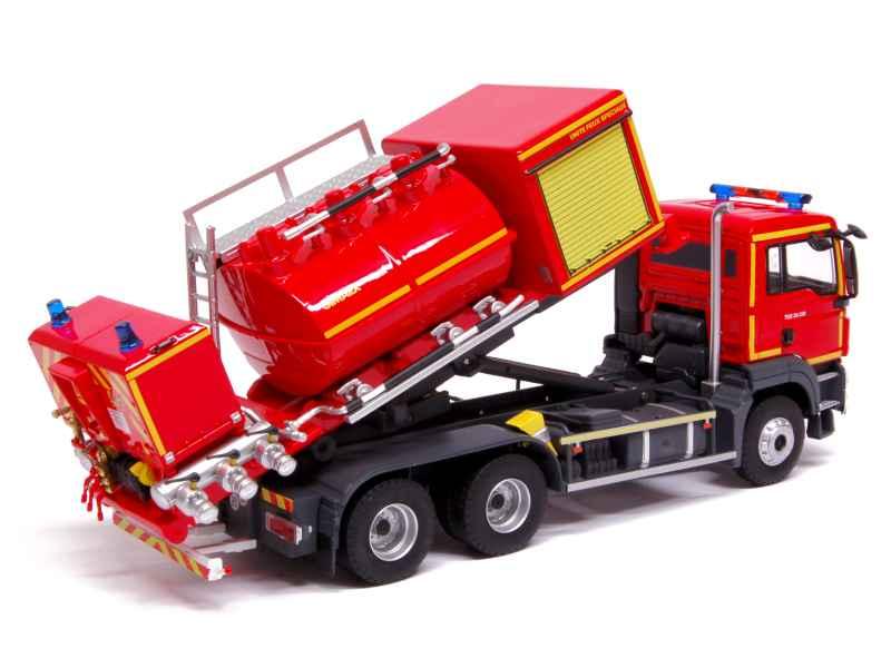 man tgs berce cellule mousse pompiers eligor 1 43 autos miniatures tacot. Black Bedroom Furniture Sets. Home Design Ideas