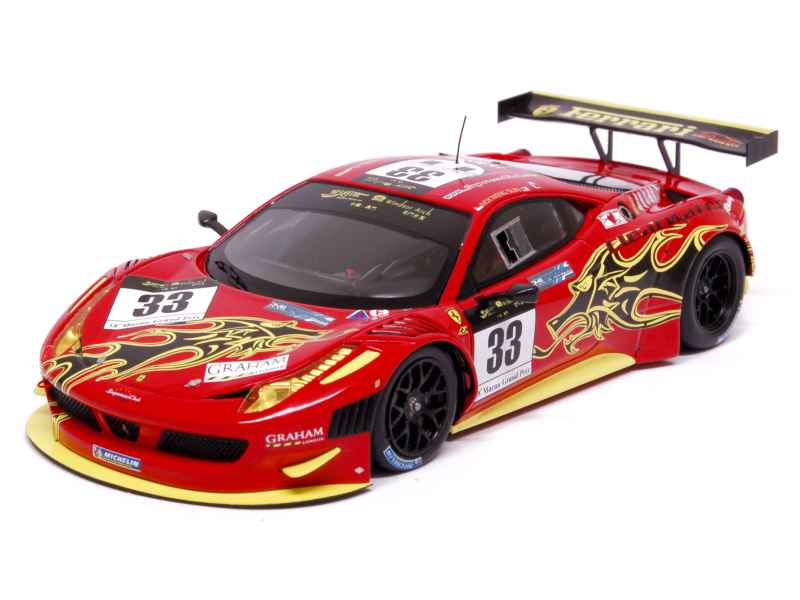 ferrari 458 italia gt3 gt macau gp 2011 fujimi 1 43 autos miniatures tacot. Black Bedroom Furniture Sets. Home Design Ideas