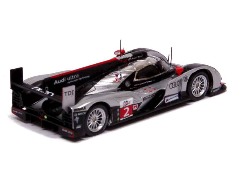 audi r18 tdi le mans 2011 spark model 1 87 autos miniatures tacot. Black Bedroom Furniture Sets. Home Design Ideas