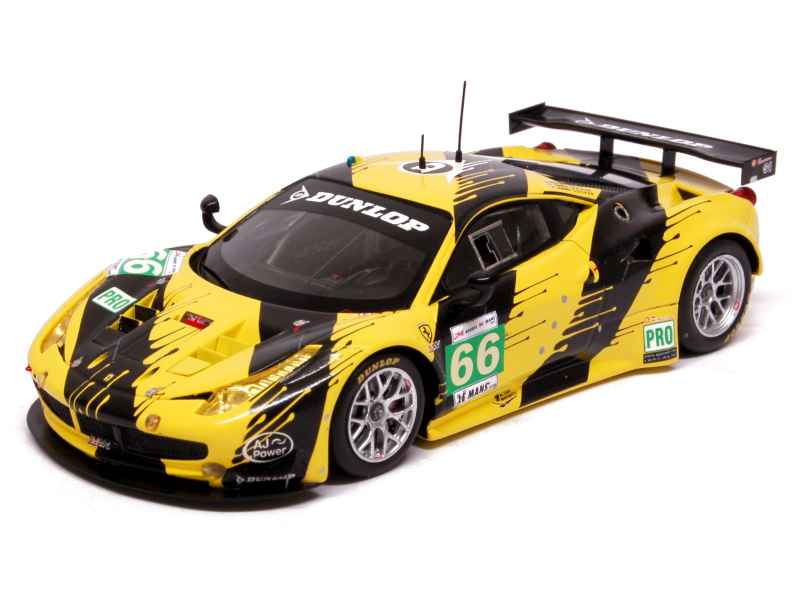 ferrari 458 italia gt2 le mans 2012 fujimi 1 43 autos miniatures tacot. Black Bedroom Furniture Sets. Home Design Ideas