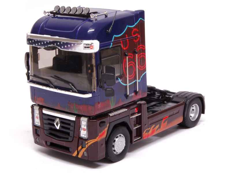 renault magnum tracteur 2008 eligor 1 43 autos miniatures tacot. Black Bedroom Furniture Sets. Home Design Ideas